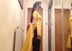Masked Punjabi Slut exotic Loveforcams free porn video
