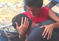 Indian Couple Lover In Public Park Naked - Wowmoyback