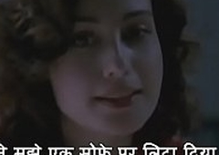 Husband receives excited right away wife tells him how she got fucked by another man - Freakish Fantasy Scene - with HINDI Subtitles - by Namaste Erotica dot com