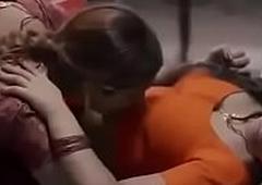 Indian Lesbian chick Kissing