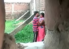 Desi aunty affair with young boy at a secret slot