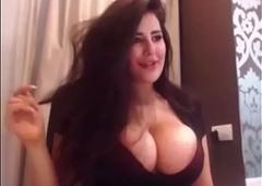 Katrina Kaif show up exhibit shaking the brush beautiful obese tits