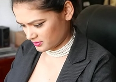 Indian Girl Showing Special Around Office(Join My Telegram)