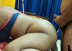 desi wife painful doggystyle fuck with uncle and cum on her brashness