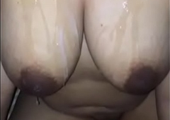 INDIAN DESI WITH SPERM On high TITS