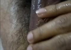 Desi indian suppliant resting dick gentle massage disturbance
