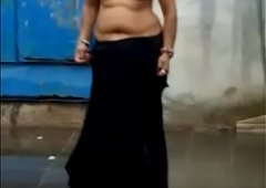 Curvy Indian Woman showing their way beautiful body with some dance moves