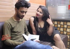 Supar Hot Model Sex with Director in Office