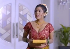 Hawt Indian maid fucked by the brush boss like a bitch