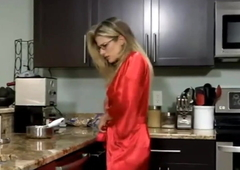 Son fuck mom in kitchen full hot