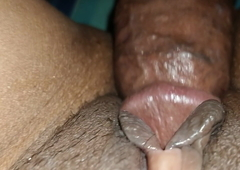 Close up my wife's pussy