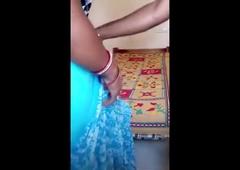 indian desi bhabhi ko sari utar k jabardast choda