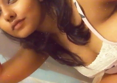 Sexy Indian Like one another herself take Bathroom 6