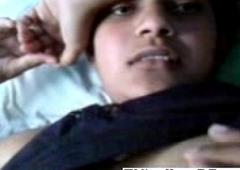 Indian slut filmed off out of one's mind her BF