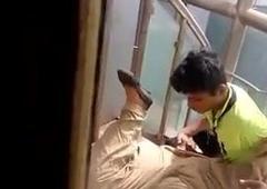 Desi lover fingered changeless in hospital