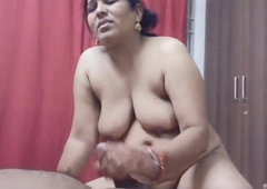 Indian Randi Bhabhi Giving Irrumation