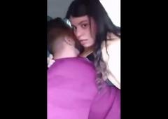Desi Delhi girl Riyaa has hot fuck with boyfriend in car