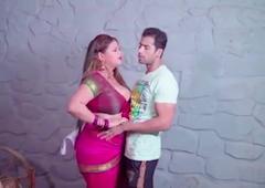 sexy sobha bhabhi ko pair uthakar jabardast choda