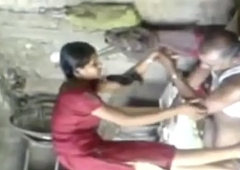 Indian School Girl Fucked Wits Her Downright Scrimshaw