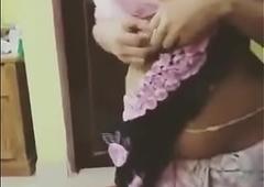 Hot Indian Girl Saree Strip