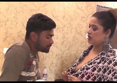 Aunty with young boy - first time on corral - web serial