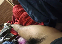 Indian sister shaved my pubes perfectly in desi style