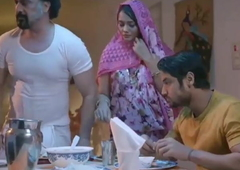Indian Hot Aunty Has Romance in bedroom