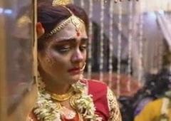Suhagraat hot wed ki piyas bujai Hindi voice