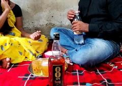 Indian girl has eternal sex at home, desi bhabhi sex video, Hindi