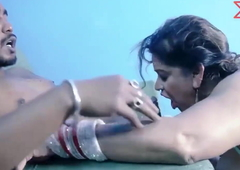 Indian Aunty Copulates Naukar - Hindi Movie UNCUT Scene