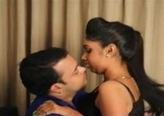 Ayati and Gaurav Home alone