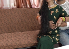 Eid special- Priya unchanging anal fuck by Shohar in clear audio