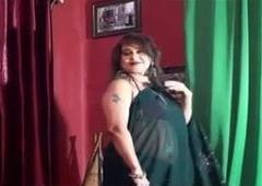 Naughty Aunty Saree Fashion, join us on cablegram iadultwebseries