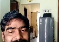 Indian uncle showing dick with respect to his wife