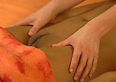 Massage babes Loving Their Natural personally