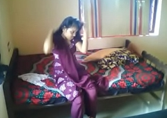 Hot Indian couple homemade accoutrement 1