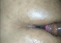 Indian Shemale Akhila sissy first assfuck
