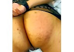 SLOW MOTION ASS SPANKING PUNISHMENT FOR INDIAN GIRLFRIEND IN FISHNETS WITH HANDS Predestined UP BEHIND FOR CHEATING TILL ASS IS COVERED WITH RED MARKS