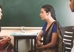 School Teacher In Student