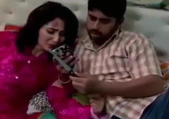 Indian aunty enjoying sex with her servant