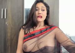 hot saree naked Indian