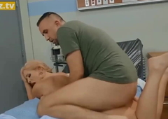 Curvy Busty Be enamoured of Fucks Her Patient – full scene at ebrazz.t