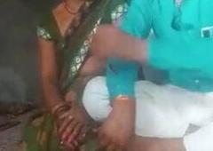 Desi village bhabhi in home isolation