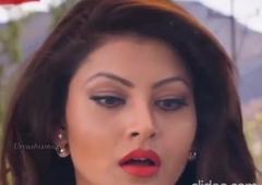 Urvashi Rautela – a caring and crying babe