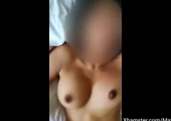 Boyfriend incessant not to cum, so my sopping pussy made him cum.