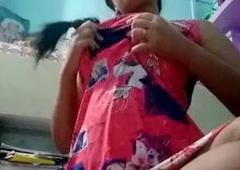 My Assamese sister stripping for boyfriend