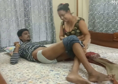 Desi Indian Mom with son's friend