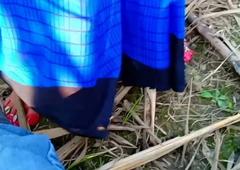 Indian village Bhabhi fucking outdoors far girlfriend