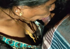 Desi Aunty Giving Hot Oral job to Uncle
