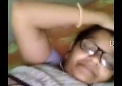 Indian Granny Showing Her Boobies & Vagina in Panties